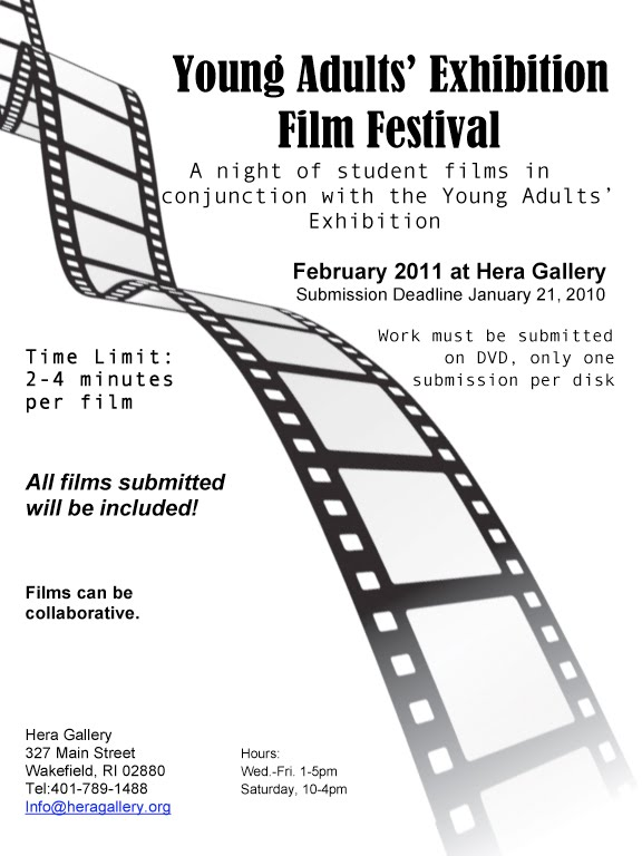 This festival will be a one night event that will feature films made by ...