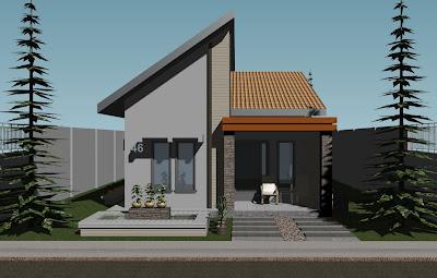 rumahku istanaku project 2 minimalis house