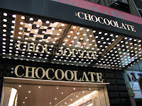 Chocoolate (a shop using Joe Cool (Snoopy) as a theme)