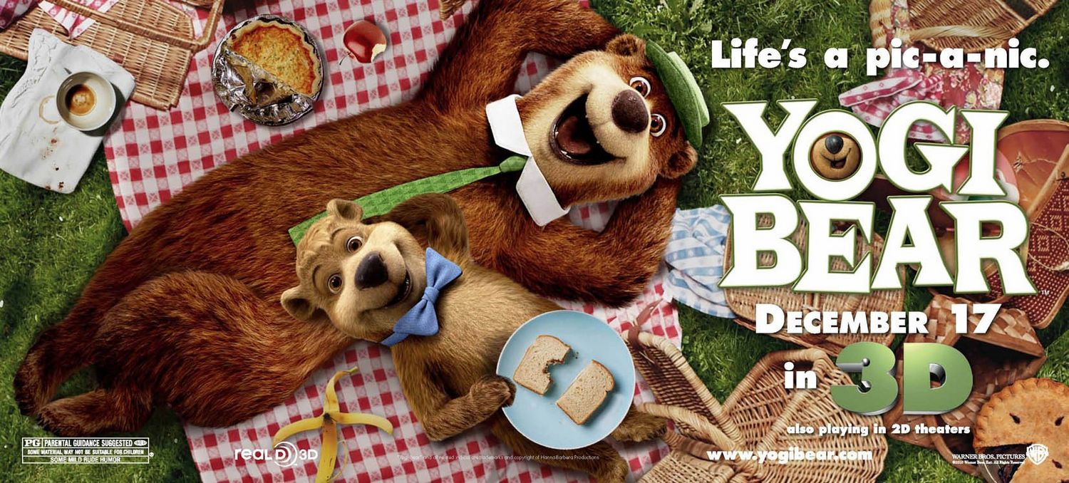 Yogi Bear Movie Poster Controversy Yogi Bear | Teaser Tra...