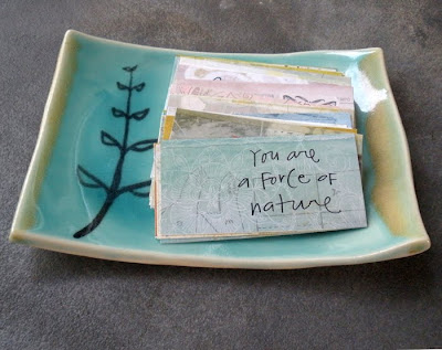 beautiful handmade ceramic dish