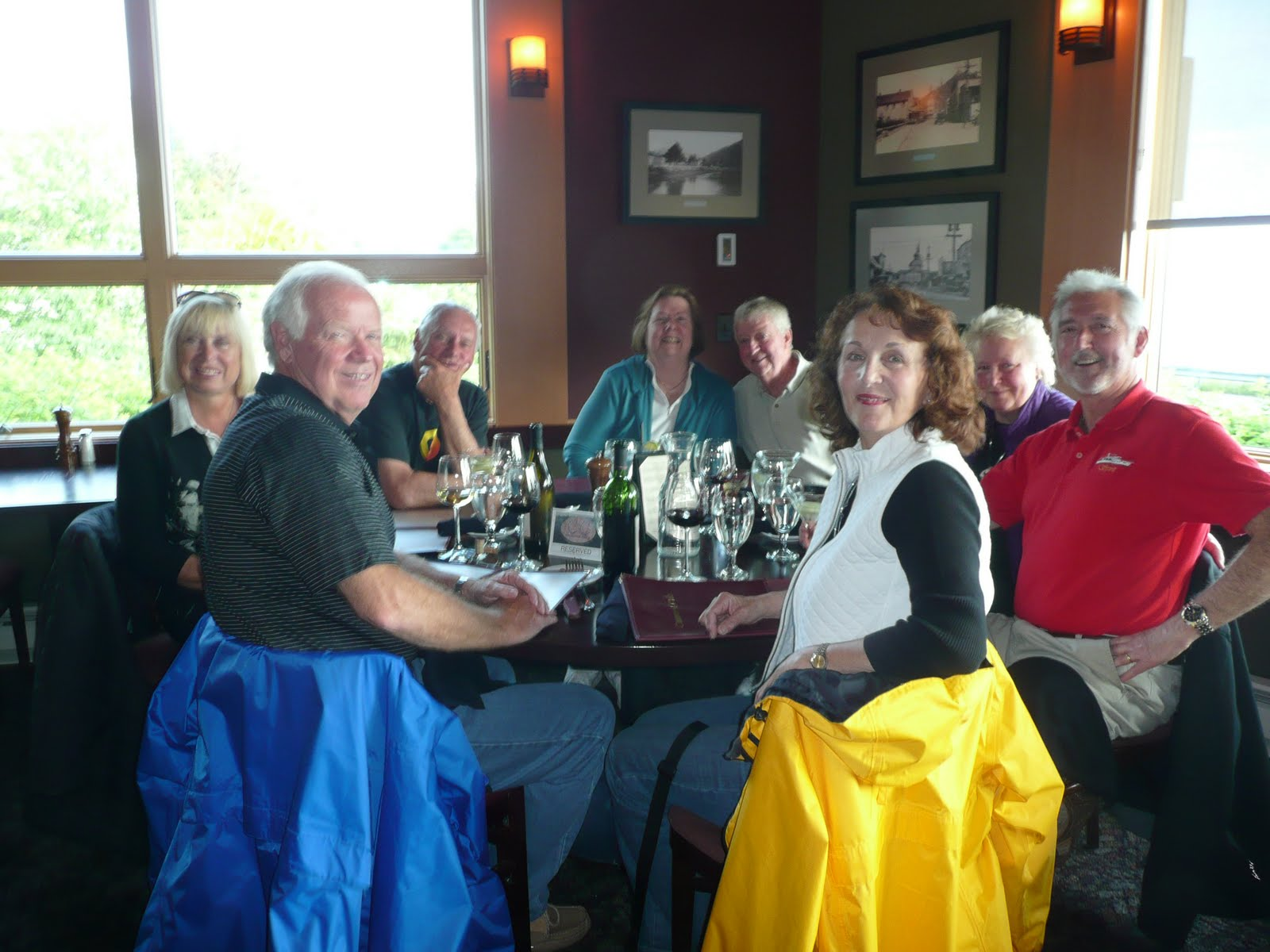 The continuing voyages of spirit leaving sitka the crews of journey skie and spirit meet for dinner at the channel club sitka sciox Images