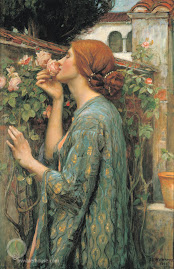 J. W. Waterhouse, 'My Sweet Rose'