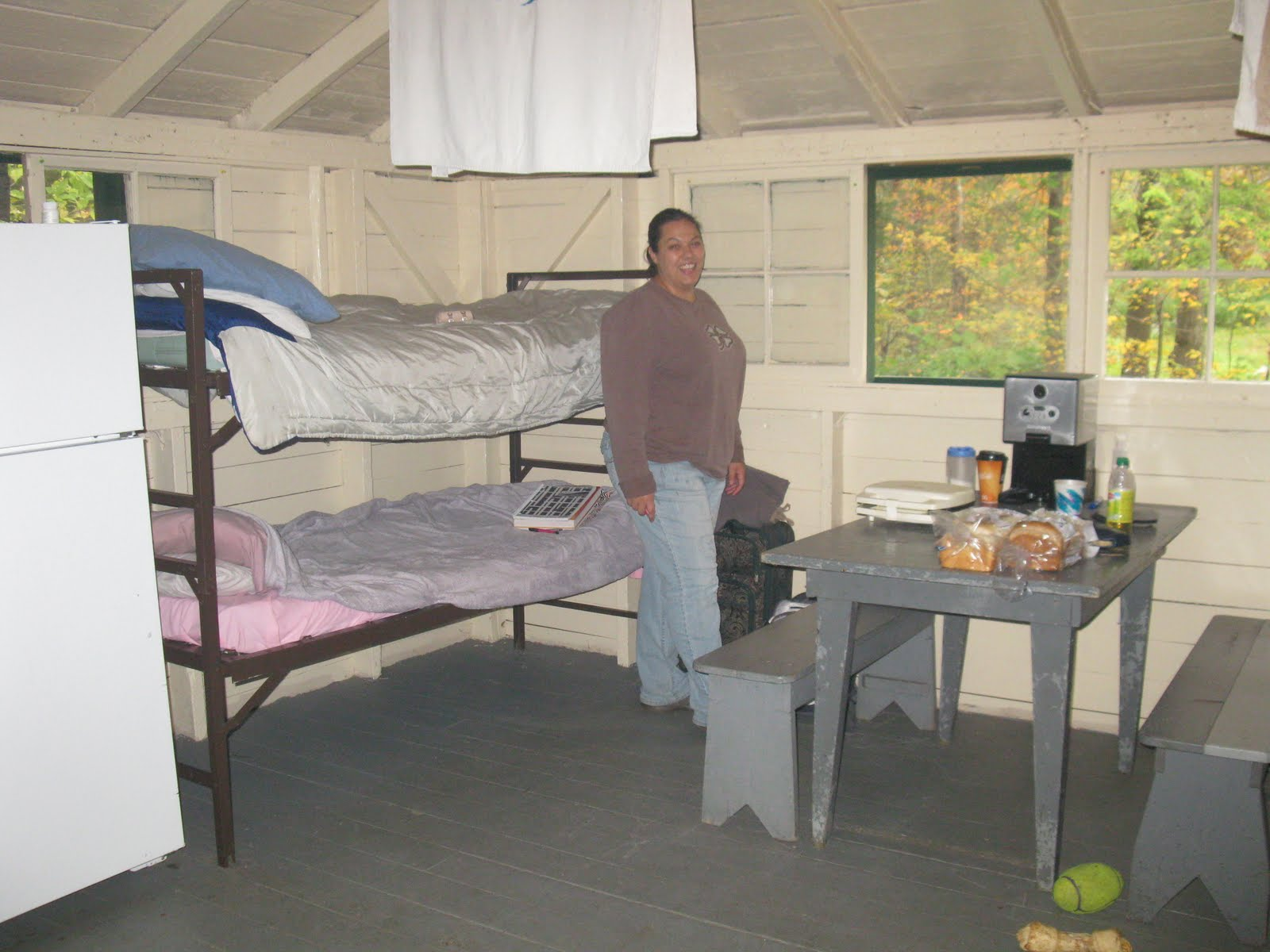 Cabin Camping At Allegany State Park 9 24 10