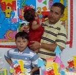 Mi esposo y nuestros hijos