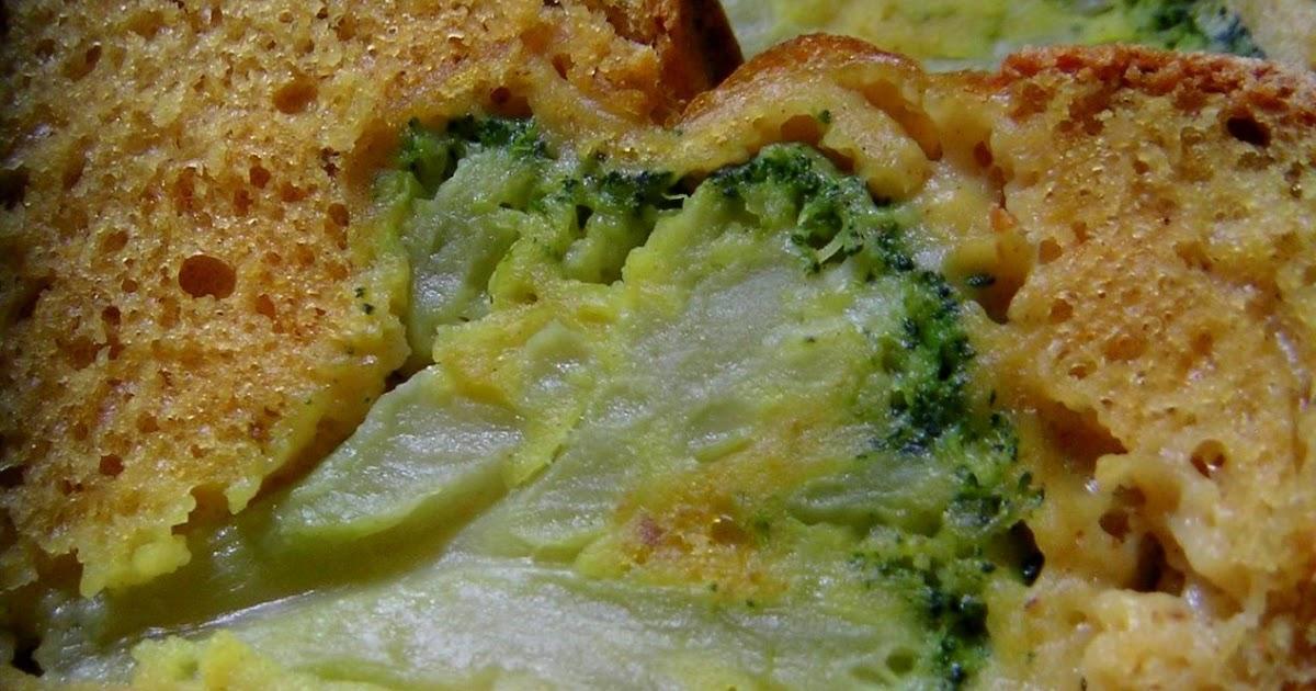 Cake Aux Brocolis Et Au Pesto D Ail Des Ours Marmiton