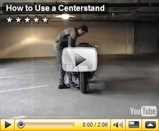 How to use a centerstand