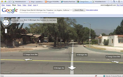 ESTATE BLOG: Pasadena Photos: Funny Google Maps Street View Photos