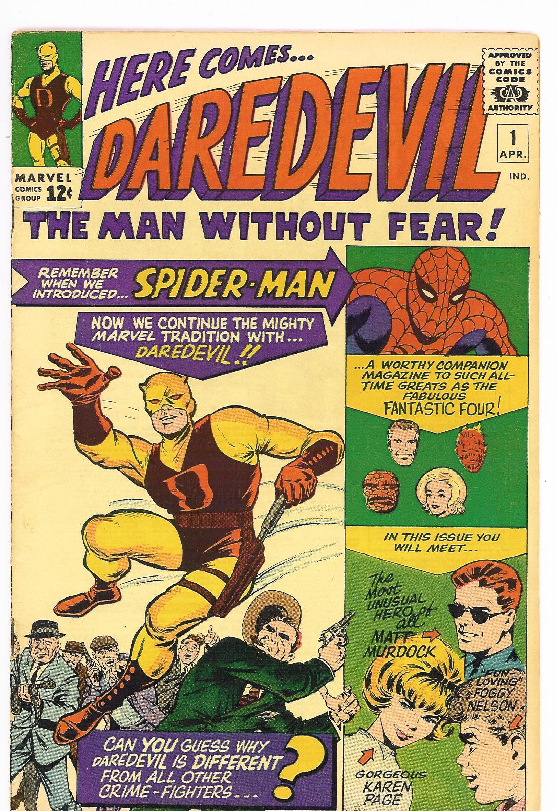 Fantastic Four N° 600 Daredevil+1