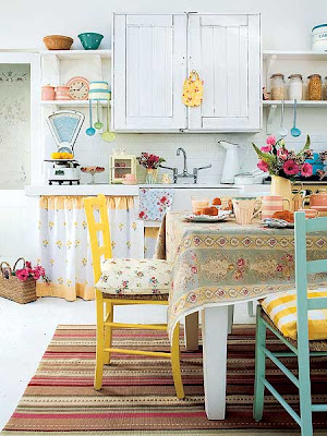 Sweet Caroline's Corner: Home Decor: Shabby Chic Kitchen