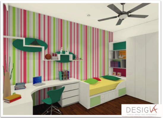 Interior Design Renovation At The Park Residence 3d