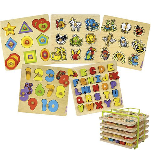 Online Baby & Children's Toys Shop : Huiwearn Kids Store ... Wooden Toddler Puzzle