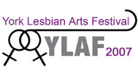 York Lesbian Arts Festival logo