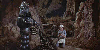 "Robbie the Robot from ""Forbidden Planet"""
