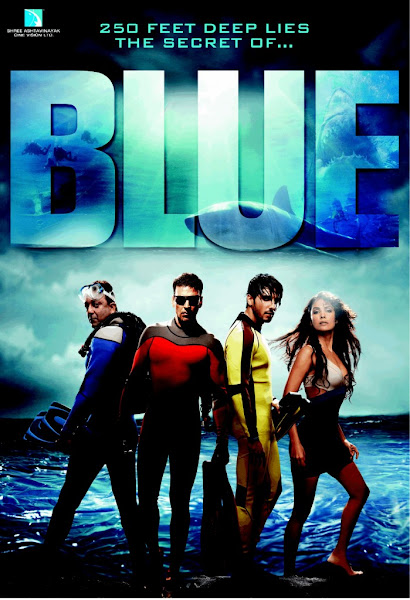 Blue (2009) Movie Poster