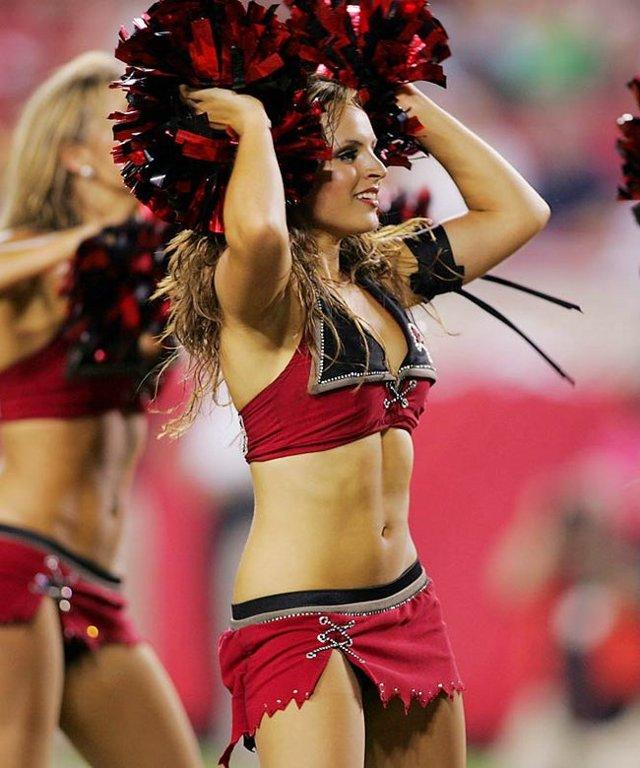 Hot naked cheerleader girls think