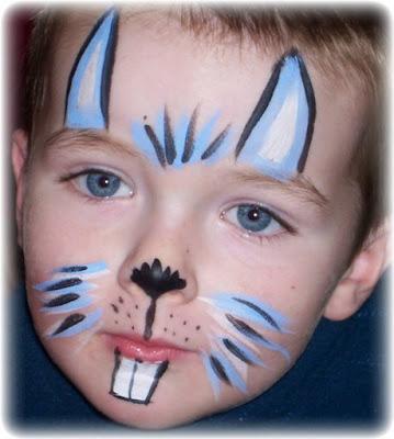 maquillaje de conejo niños