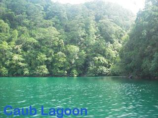 Del Carmen, Caub Lagoon