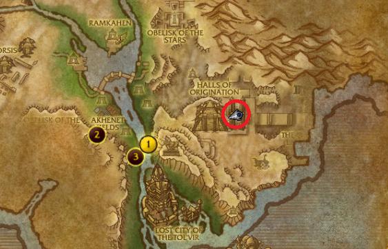 Halls Of Origination Entrance WoW Cataclysm Instance