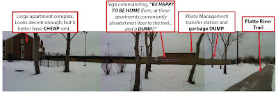 Apartments For Rent: easy access to Platte River Trail/Waste Mgmt Dump. Cheap Rents!