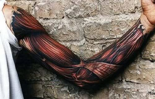 Are these 3D Tattoos real or are they photoshopped?