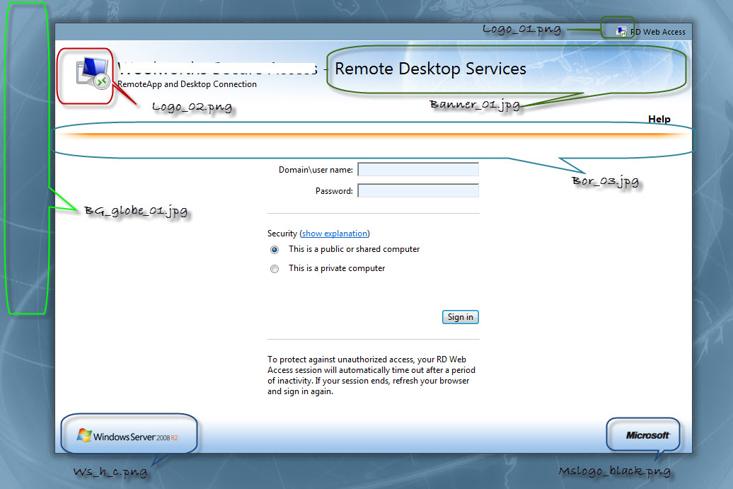Remote desktop services in windows 2008 r2 part 2 rd for Window remote desktop