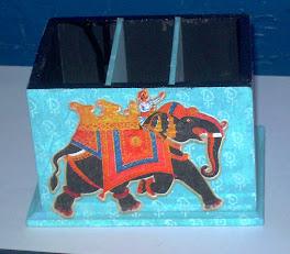 Porta controle do elefante