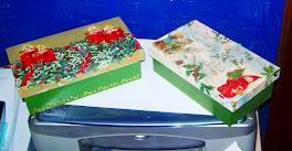 Caixas natalinas 20X15
