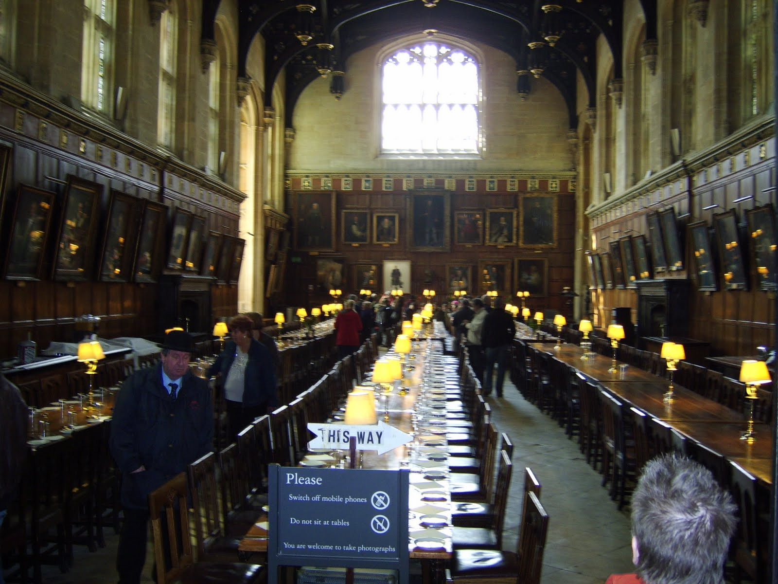 Must see Wallpaper Harry Potter Library - Oxford+-+Christ+Church+dining+room  Pictures_746646.JPG