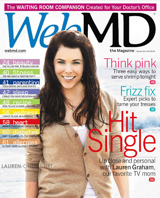 Lauren Graham WebMD Photoshop Disasters