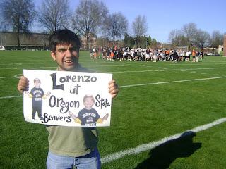 Lorenzo at Oregon State