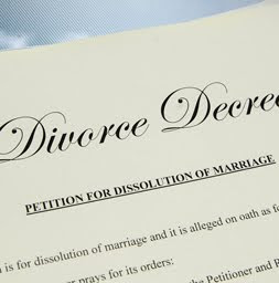 Divorce decree affects credit