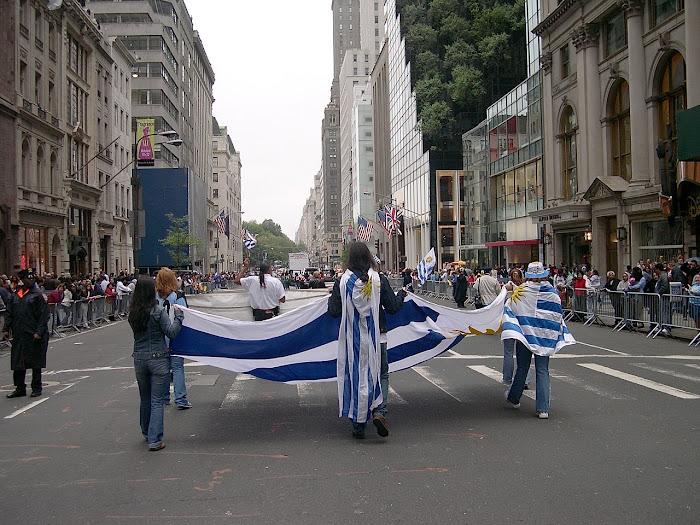 Uruguayos por la 5ta Avenida