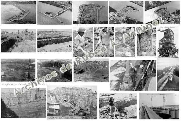 Ataguías, excavación. explosivos
