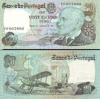 Gago Coutinho: Nota de 20$00