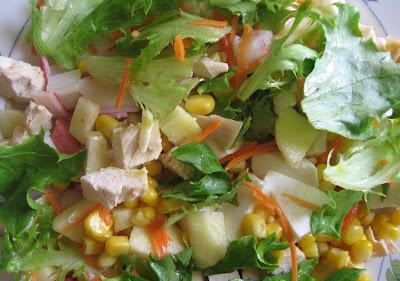 Foto de um prato saudável