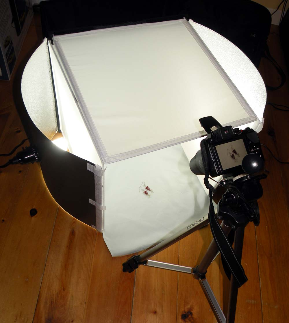elfshot review optex portable studio and lighting kit