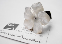 Sortija flor de Nácar