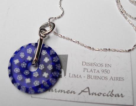 Dije Rueda blue