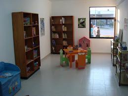 Sala de lectura para niños