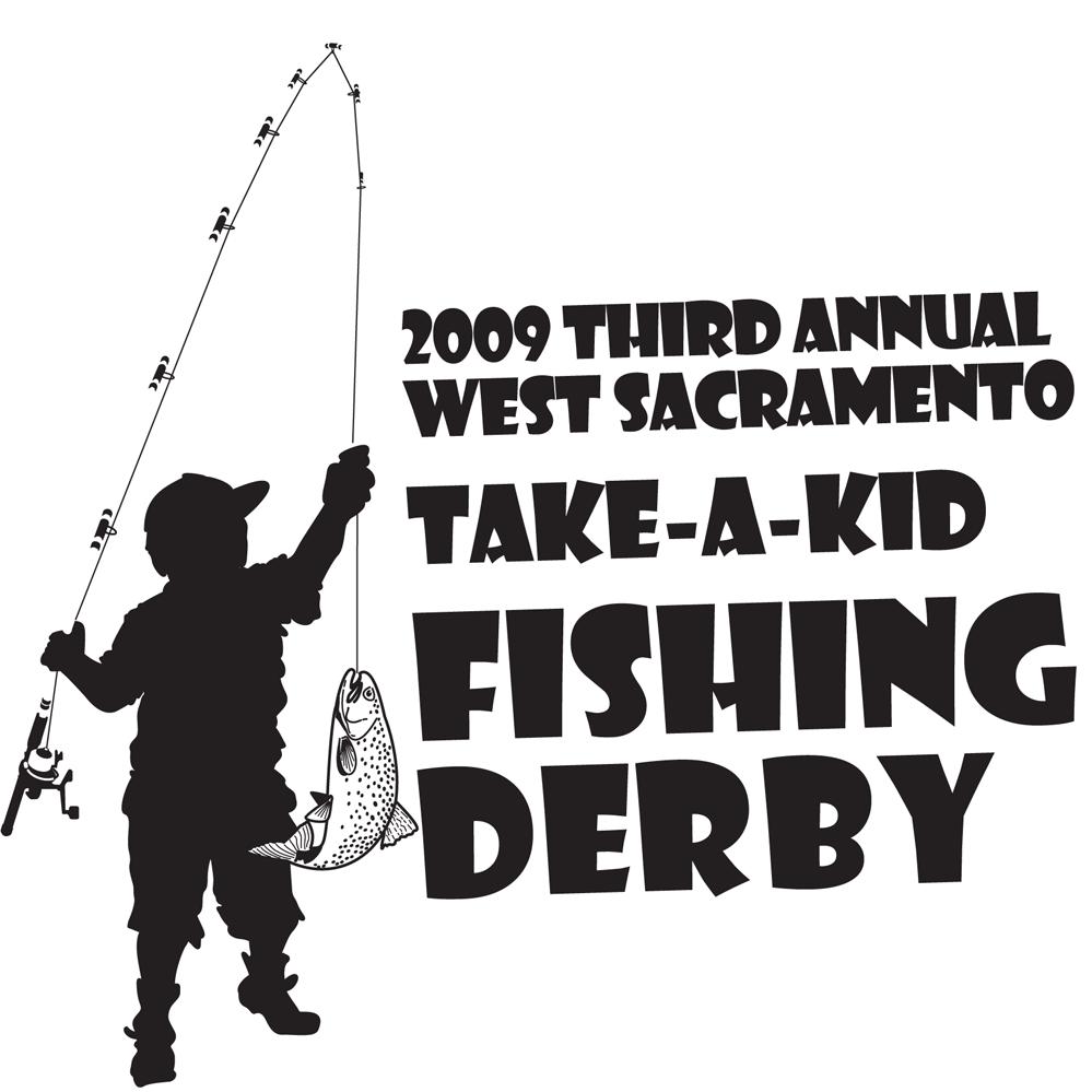 Dan draws take a kid fishing for Take a kid fishing