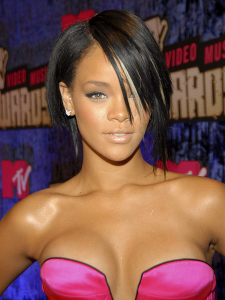 rihanna red hair photos