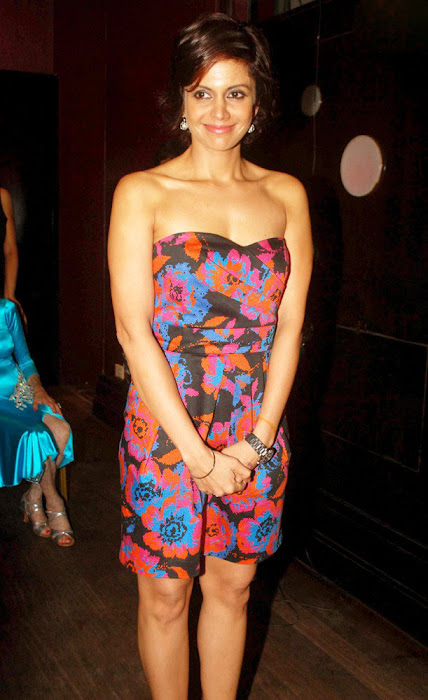 mandira bedi at event