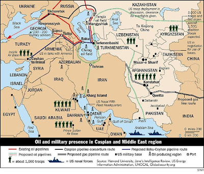 Afghanistan A War For Gas And Oil Pipelines Centureans Weblog - Map of pipelines in us disasters