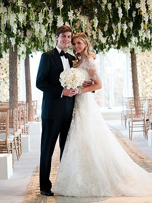 ivanka trump wedding gown. ivanka trump wedding dress