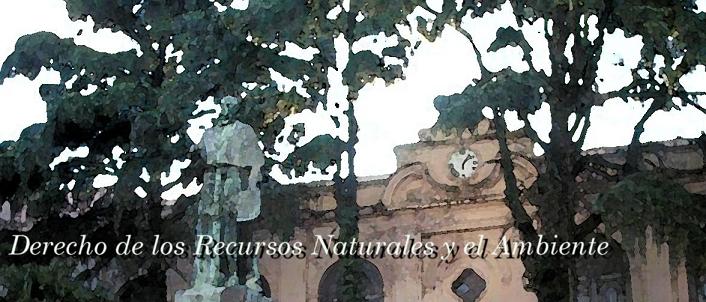 Derecho de los Recursos Naturales y el Ambiente