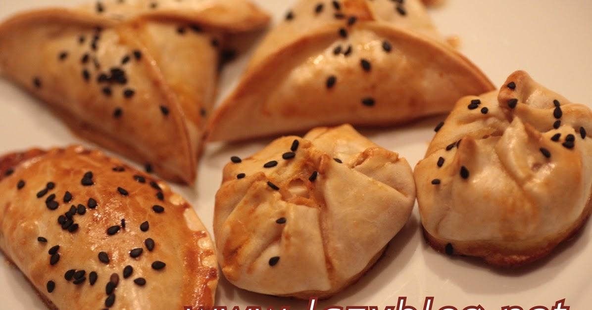 Empanadillas de tres sabores al horno