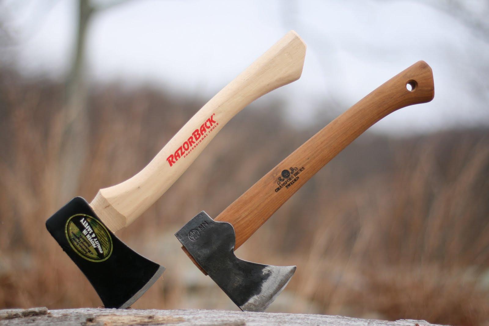 Bushcraft Made in USA 1.75 lb Council Tool Hudson Bay Camp Axe 28 inch