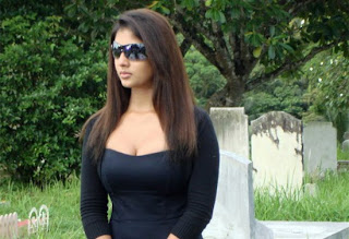 Hot Nayanthara in Black