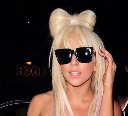 how to do lady gaga hair bow. house how to make lady gaga